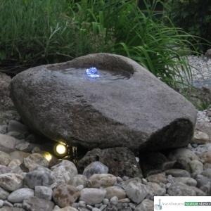 Granit Findlingsbecken