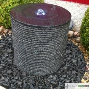Wasserspiel Zylinder mit Rillen