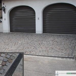 Antike Granit-Pflastersteine 8/10 cm