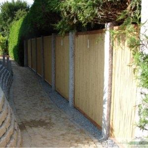 Sichtschutz aus Bambus h 180x180 cm