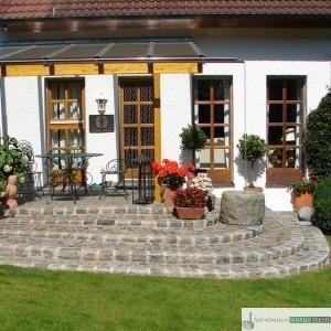 Antike Granit-Pflastersteine 8/10 und 15/17 cm