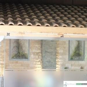 Holz Lärche mit Glas