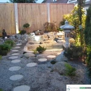 Japanischer Garten mit Teichanlage