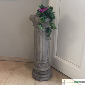 Englischer Antiksteinguss: 025. Tall Round Column, h 70 cm