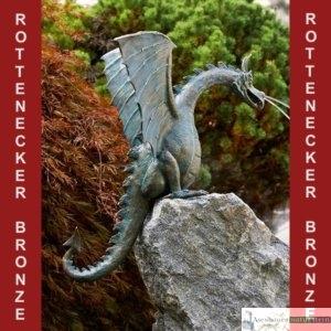 Art.Nr.90167, Drachenvogel Saphira, H95/B80/T55 cm, auch in Alu erhältlich