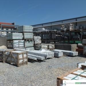 Terrassenplatten, Leistensteine uvm.
