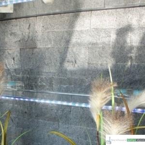 Wandverblender anthrazit, oder grau 30x h 8-16-24x2-3 cm