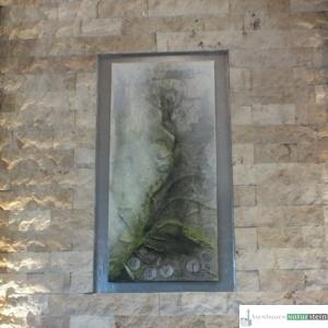 Wandverblender aus Jurakalk