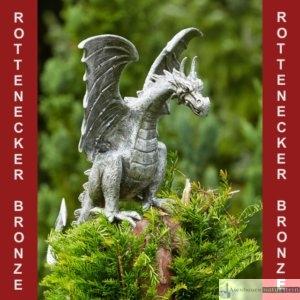 Art.Nr.90166 (ALU), Drachenvogel Terrador, H53/B49/H49 cm, auch in Bronze erhältlich