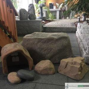 Abdecksteine für Steckdosen in grau oder Sandfarben, versch. Größen und Formen
