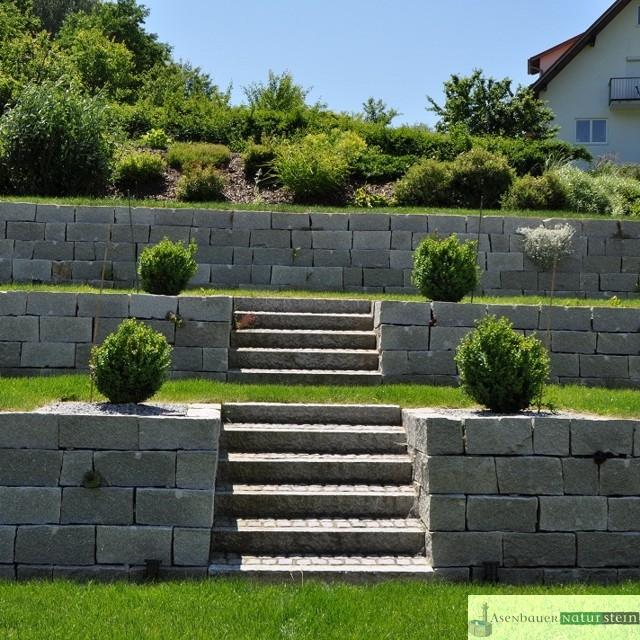 Gartengestaltung Garten Im Modernen Stil, Garten Mit Modernen Akzenten,  Garten  Und Landschaftsbau, Gartenbau, Granit, Granit Brunnen, Moderner  Garten, ...