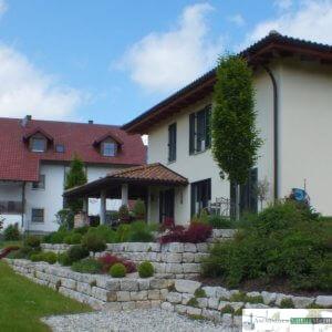 Jurakalk-Mauersteine h 20 cm