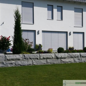 Granit Mauersteine, grau, 80-120/40/h40cm