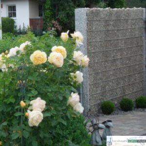Sichtschutz, Füllmaterial Weißenbacher getrommelt