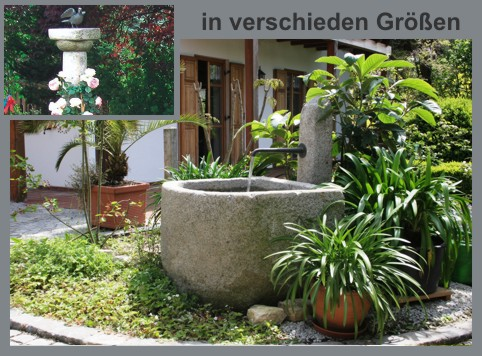 Antike Brunnen & Säulen