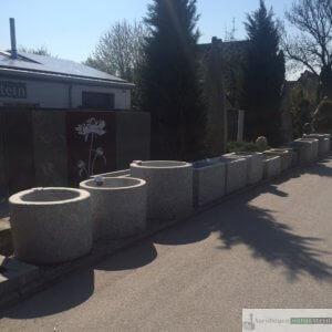 neue Brunnen in verschiedenen Formen und Größen