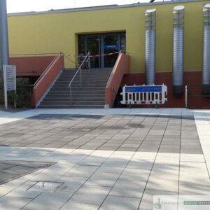 1. Ergomar, Eingang Freibad